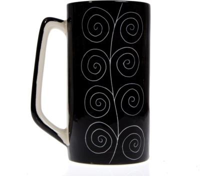 Urban Monk Creations blackmugstr03 Ceramic Mug