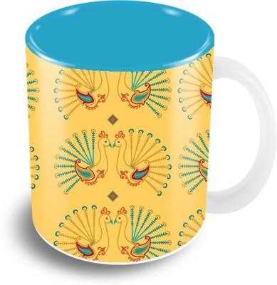 The Crazy Me Vintage Anchor Travel Ceramic Mug