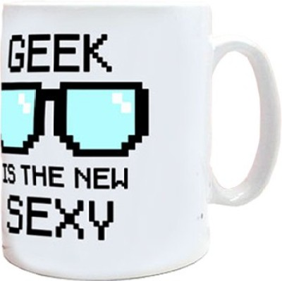 exciting Lives Geek Is The New Sexy  Ceramic Mug