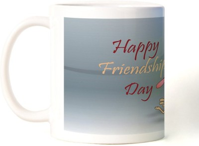 Rockmantra Happy Friendship Day Funny Ceramic Mug