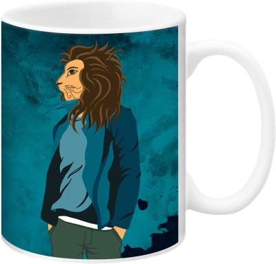 ezyPRNT The Leo Boy Ceramic Mug