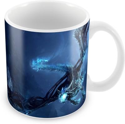 Prinzox Flying Dragon Theme Ceramic Mug