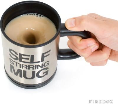 Krypton Self Stirring  SMG 01 Stainless Steel Mug