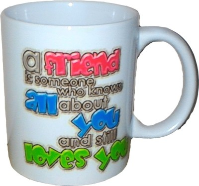Exxact My Friend Ceramic Mug