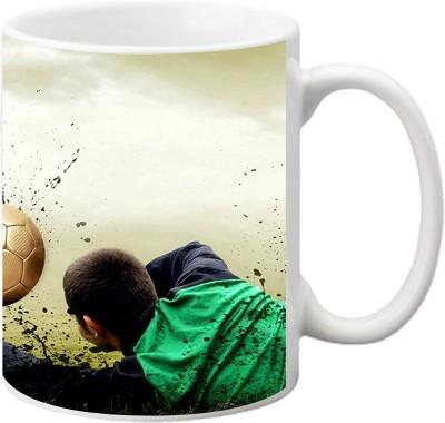 ezyPRNT Soccer Ceramic Mug