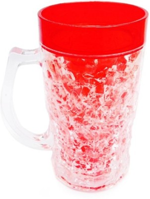 Highlight red acrylic Plastic Mug