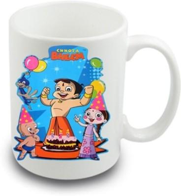 Awwsme Chhota Bheem Bone China Mug