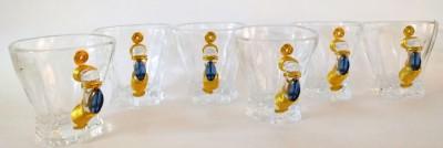 JewelKraft Designs 41-O Glass Mug