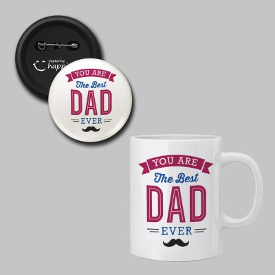 Capturing Happiness The Best Dad Combo Ceramic Mug