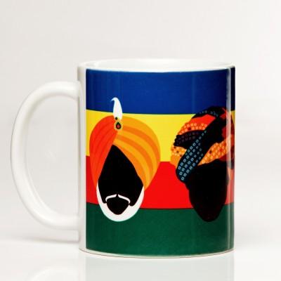 LetterNote Turban Ceramic Mug