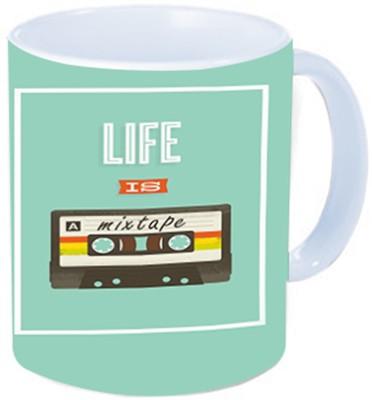Rawkart life mix tape Ceramic Mug