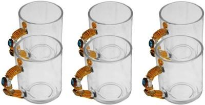 JewelKraft Designs Plain Jane Glass Mug