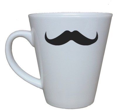 Thelostpuppy Moustache3smg Ceramic Mug