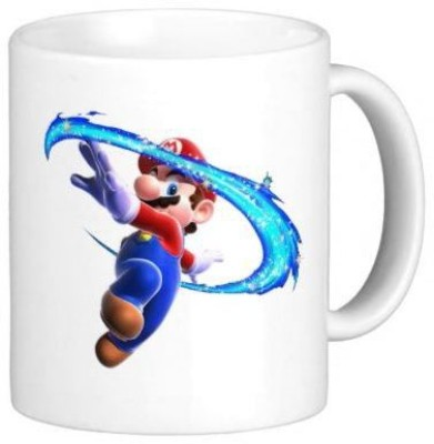 G&G Mario Play With Air Ceramic Mug