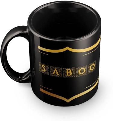 posterchacha Saboo Name Tea And Coffee  For Gift And Self Use Ceramic Mug