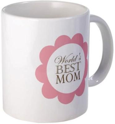 Giftsmate Floral Worlds Best Mom Ceramic Mug