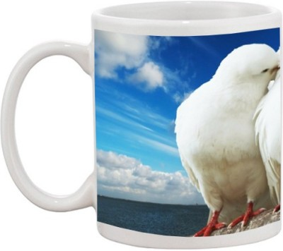 Go Online Shop Loving Birds Ceramic Mug