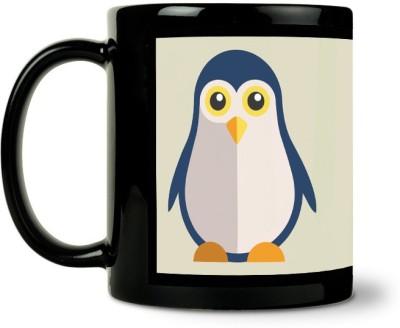 AURRA PRINTED BLACK-1001 Ceramic Mug