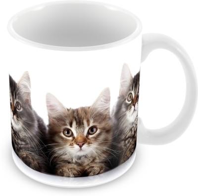 Prinzox 3 Kittens Ceramic Mug