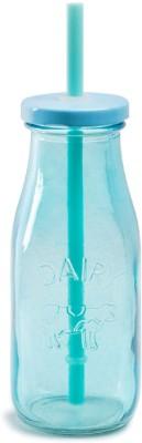 Chumbak Aqua Splash Milk Botle Glass Mug(325 ml) at flipkart