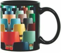 Printland Printland Chairs Black Coffee 350 - ml Ceramic Mug(350 ml) best price on Flipkart @ Rs. 349