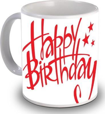 Print Helllo Happy Birthday R141 Ceramic Mug