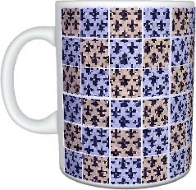 Creatives Tile Pattern Ceramic Mug