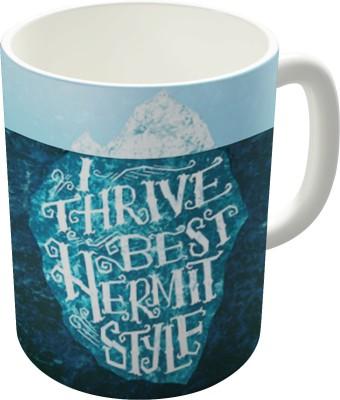 Dreambolic Hermit Iceberg Ceramic Mug