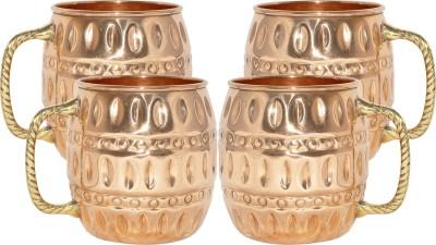 AsiaCraft MOSCOWMUG010-4 Copper Mug