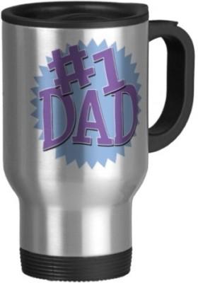 Giftsmate No1 Dad Travel Ceramic Mug