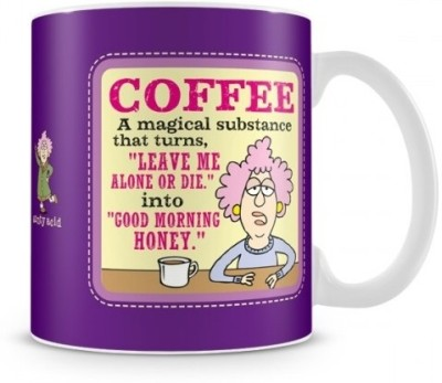 Aunty Acid Good Morning Honey (with Background) Ceramic Mug