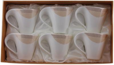 White Gold 2706 - 166G Porcelain, Copper Mug