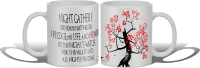 Get Fatang Now My Watch Begins Ceramic Mug