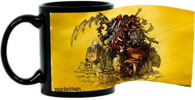 Shoperite darksider Ceramic Mug