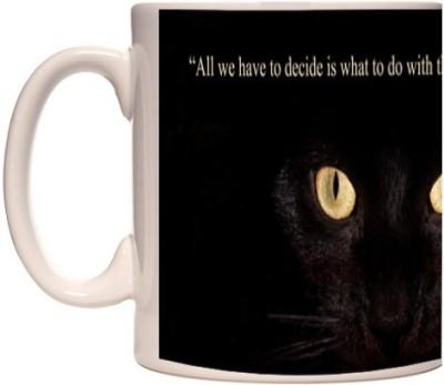Onlineworld White Coffee  - Quote Theme -38 Ceramic Mug