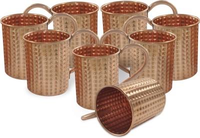 Dakshcraft Hammered Drinkware Copper Mug
