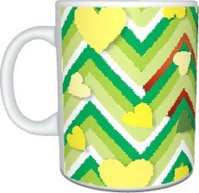 Creatives Zigzag Ceramic Mug