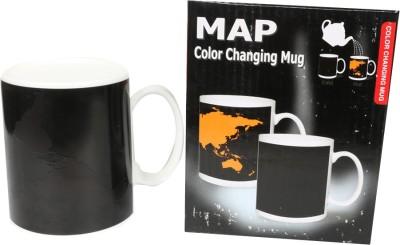Emerge Map Colour Changing Ceramic Mug