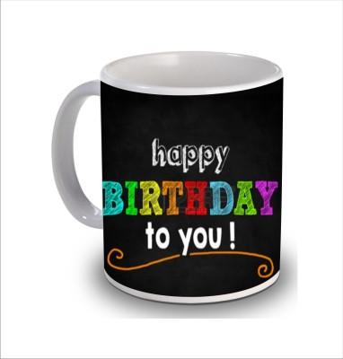 Print Hello Happy Birthday Cake b229 Ceramic Mug