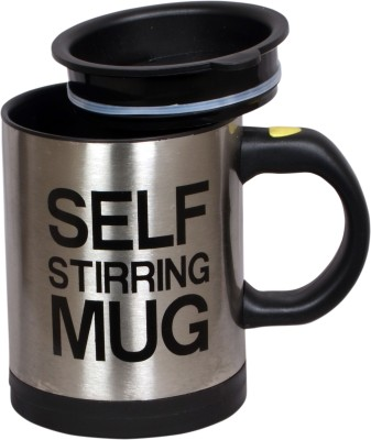 BLU Self Stirring Stainless Steel Mug