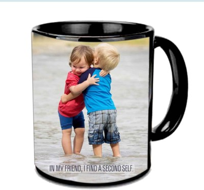Jiya Creation1 Cute Baby Multicolor Ceramic Mug