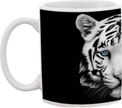 Goonlineshop Tiger Face Ceramic Mug