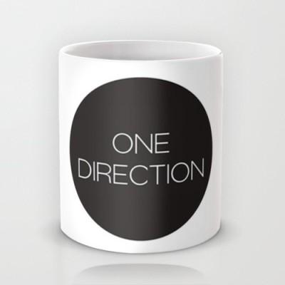 Astrode One Direction Plain Ceramic Mug