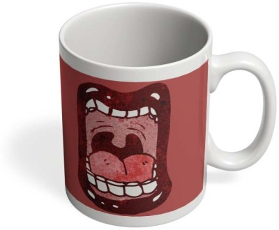 PosterGuy Scream Art, Social, Art, Pop Ceramic Mug