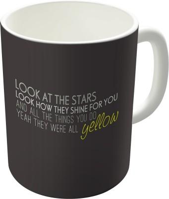 Dreambolic Coldplay-Yellow Coffee Ceramic Mug