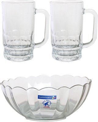 Luminarc Beer s Serving Set Glass Mug