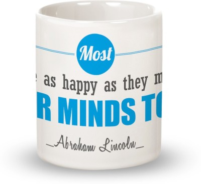 Posterboy Happy Folks - Abraham Lincoln Ceramic Mug