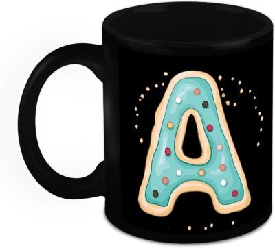 HomeSoGood One Of A Kind Alphabet A Ceramic Mug