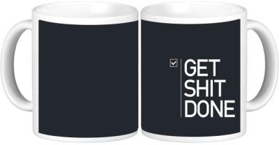 Shopmillions Get Shit Done Ceramic Mug
