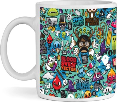 BSEnterprise Art Attack Ceramic Mug